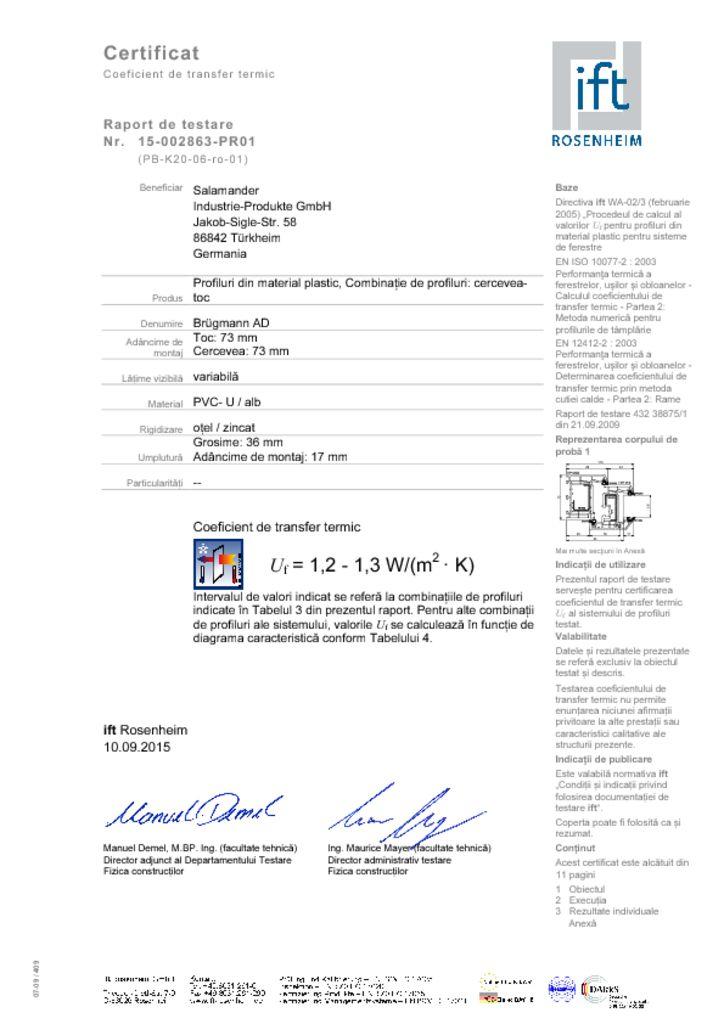thumbnail of Brugman 73 coeficient termic profil